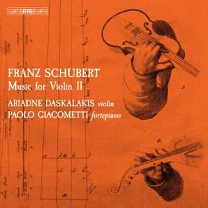Schubert: Music for Violin II
