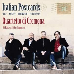 Italian Postcards: Works By Wolf, Mozart, Borenstein, Tchaikovsky Product Image