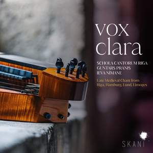 Vox Clara: Late Medieval Chant From Riga, Hamburg, Lund, Lim Product Image