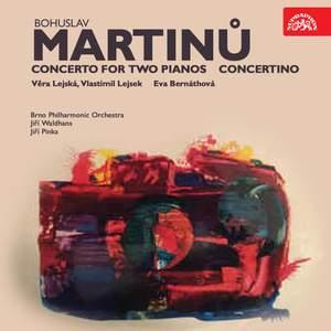 Martinů: Concerto for Two Pianos, Concertino