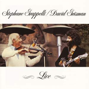 Stephane Grappelli and David Grisman Live