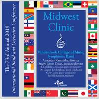 2019 Midwest Clinic: VanderCook College of Music Symphonic Band (Live)