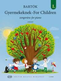 Bartók: For Children Volume One (piano)