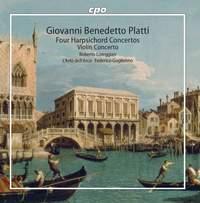 Giovanni Benedetto Platti: Four Harpsichord Concertos