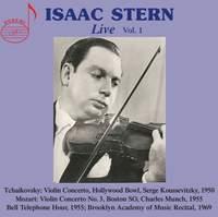 Isaac Stern Live Vol. 1