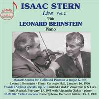 Isaac Stern Live Vol. 2