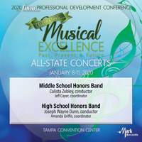 2020 Florida Music Education Association: Middle School Honors Band & High School Honors Band (Live)