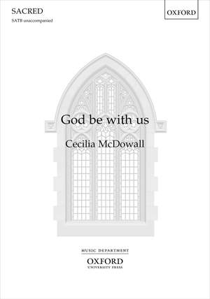 McDowall, Cecilia: God be with us Product Image