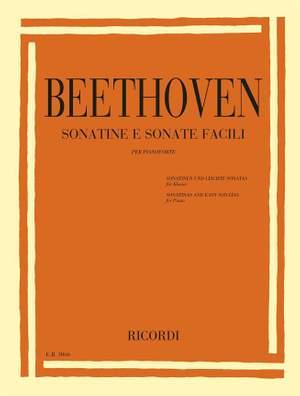 Ludwig van Beethoven: Sonatine e Sonate facili per pianoforte