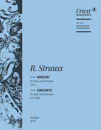 Richard Strauss: Oboe Concerto (Full Score)