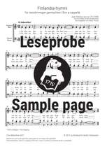 Sibelius, Jean: Finlandia-hymni from Op. 26 Product Image