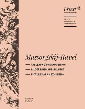 Mussorgsky/Ravel: Tableaux d'une exposition (Pictures at an Exhibition) Product Image