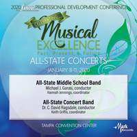 2020 Florida Music Education Association (FMEA): All-State Middle School Band & All-State Concert Band [Live]