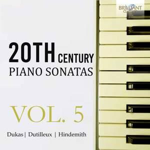 20th Century Piano Sonatas, Vol. 5