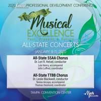 2020 Florida Music Education Association (FMEA): All-State SSAA Chorus & All-State TTBB Chorus [Live]