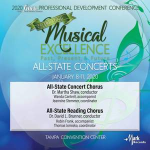 2020 Florida Music Education Association (FMEA): All-State Concert Chorus & All-State Reading Chorus [Live] Product Image