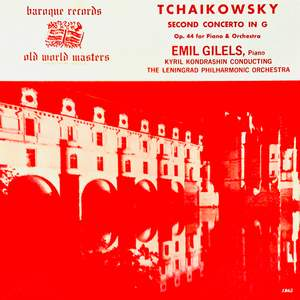 Tchaikowsky Second Concerto In G Op. 44 For Piano & Orchestra