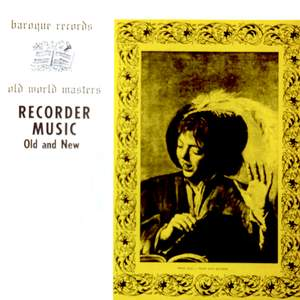 Recorder Music: Old And New