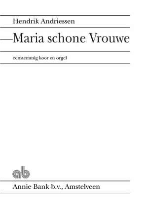 Hendrik Andriessen: Maria Schone Vrouwe