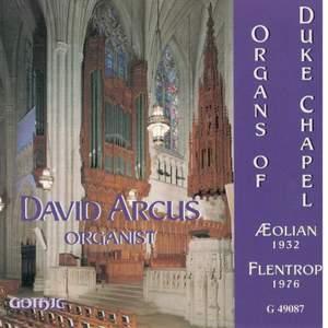 Organs of Duke Chapel