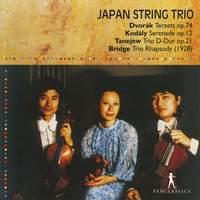 Dvořák, Kodály & Others: String Trios