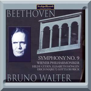 Beethoven Symphony No. 9 Bruno Walter live in Vienna 1955 Product Image