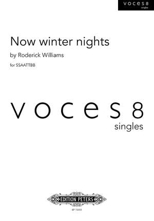 Roderick Williams: Now winter nights