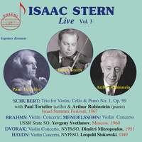 Isaac Stern Live - Vol. 3