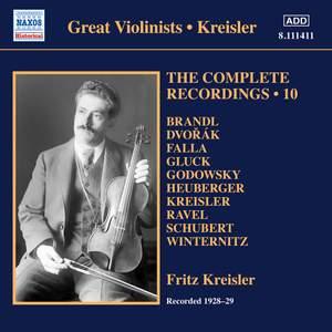 Kreisler: The Complete Recordings Vol. 10