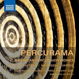 Cage, Ginastera, Harrison, Varèse: Percurama - American Percussion Works Product Image
