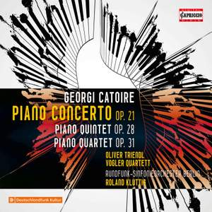 Catoire: Piano Concerto Op. 21 Product Image