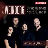 Weinberg: String Quartets Vol. 1