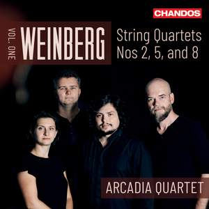 Weinberg: String Quartets Vol. 1 Product Image