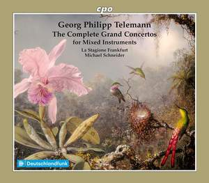 Telemann: The Grand Concertos for Mixed Instruments Product Image