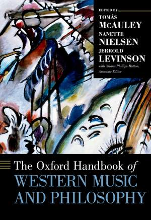 The Oxford Handbook of Western Music and Philosophy Product Image