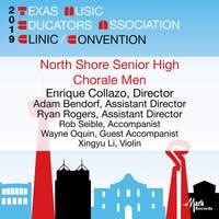 2019 Texas Music Educators Association (TMEA): North Shore Senior High Chorale Men [Live]