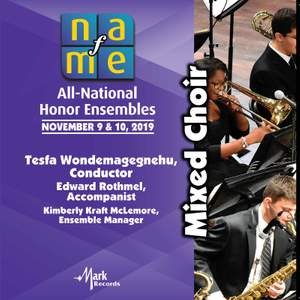 2019 National Association for Music Education (NAfME): Mixed Choir [Live] Product Image