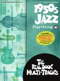 1950s Jazz Play-Along - Real Book Multi-Tracks, Volume 12