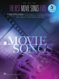 The Best Movie Songs Ever Songbook - 5th Edition