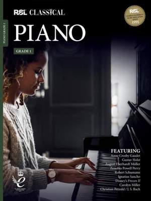 RSL Classical Piano Grade 1 (2021) Product Image