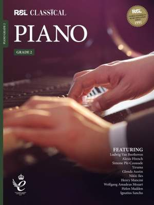 RSL Classical Piano Grade 2 (2021) Product Image
