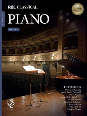 RSL Classical Piano Grade 7 (2021) Product Image
