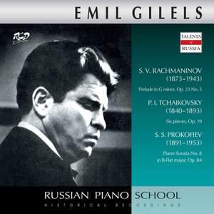 Rachmaninoff, Tchaikovsky & Prokofiev: Piano Works (Live)