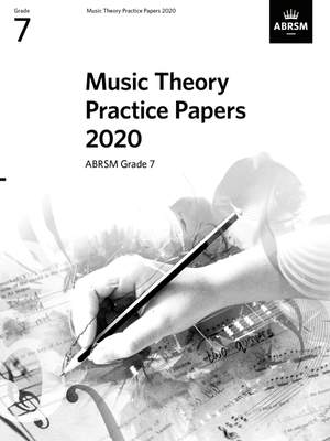 ABRSM: Music Theory Practice Papers 2020, ABRSM Grade 7