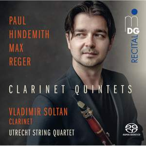 Hindemith & Reger: Clarinet Quintets