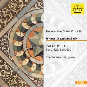 J S Bach: Partitas 1, 2 & 6