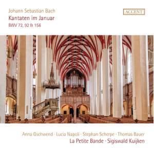 Js Bach: Cantatas Bwv 72, 92 & 156