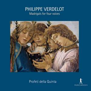 Philippe Verdelot: Madrigals For Four Voices Product Image