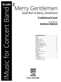 Balent, A: Merry Gentlemen