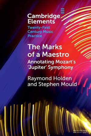 The Marks of a Maestro: Annotating Mozart's 'Jupiter' Symphony